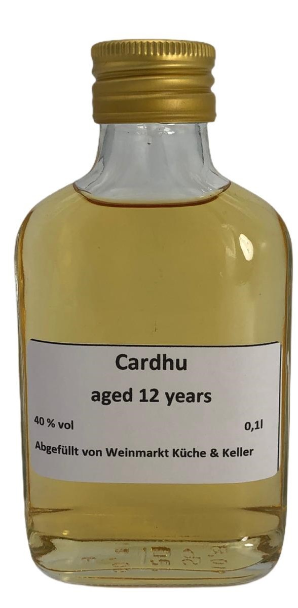 Cardhu 12 Years old Single Malt 0,1 l