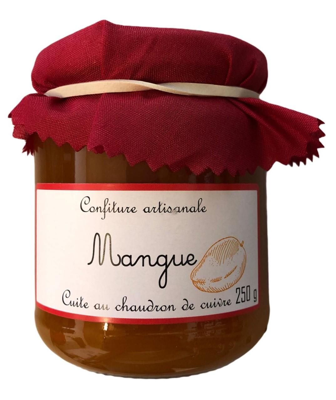 Cuite au chaudron de cuivze Mangokonfitüre 250g