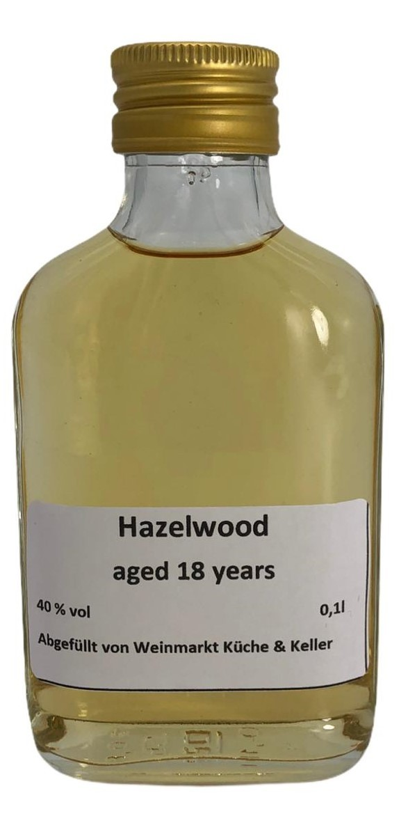 Hazelwood 18 Years Old Blended Scotch Whisky 0,1 l
