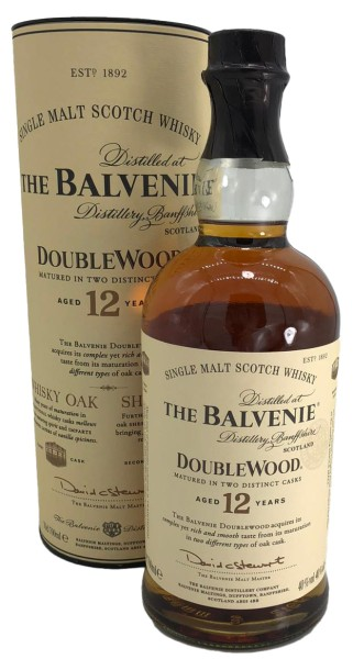 The Balvenie Double Wood 12 Years Single Malt
