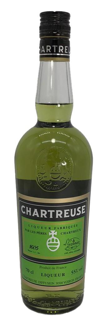 Chartreuse französischer Kräuterlikör grün