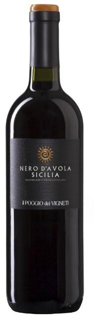 Verga Nero d´Avola Rotwein trocken