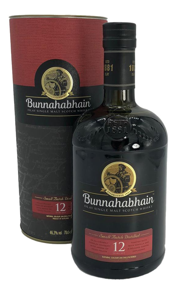 Bunnahabhain Small Batch Sistilled 12 Years 0,1 l