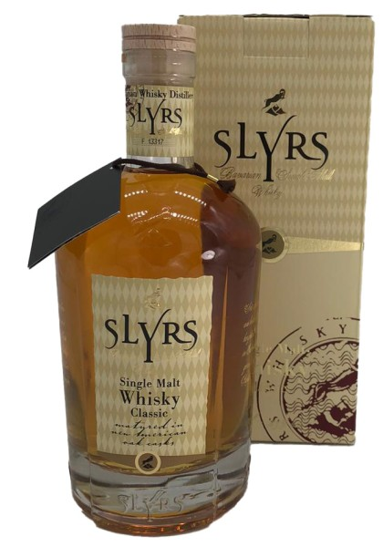 Slyrs Single Malt Whisky Classic 0,7L