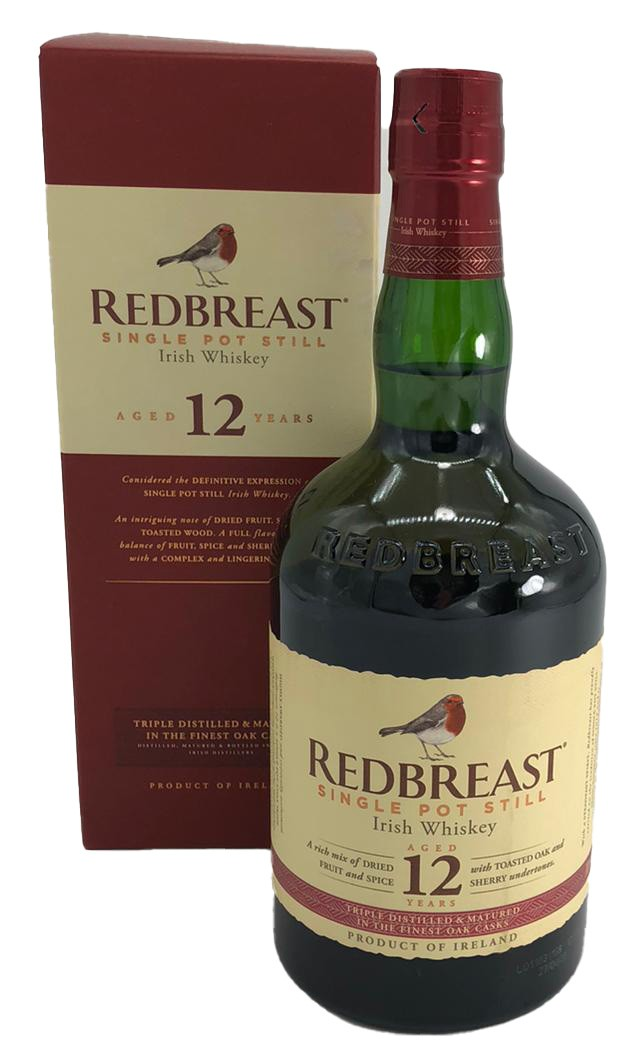 Redbreast 12 YO Cask Strength Blended Irish Whiskey