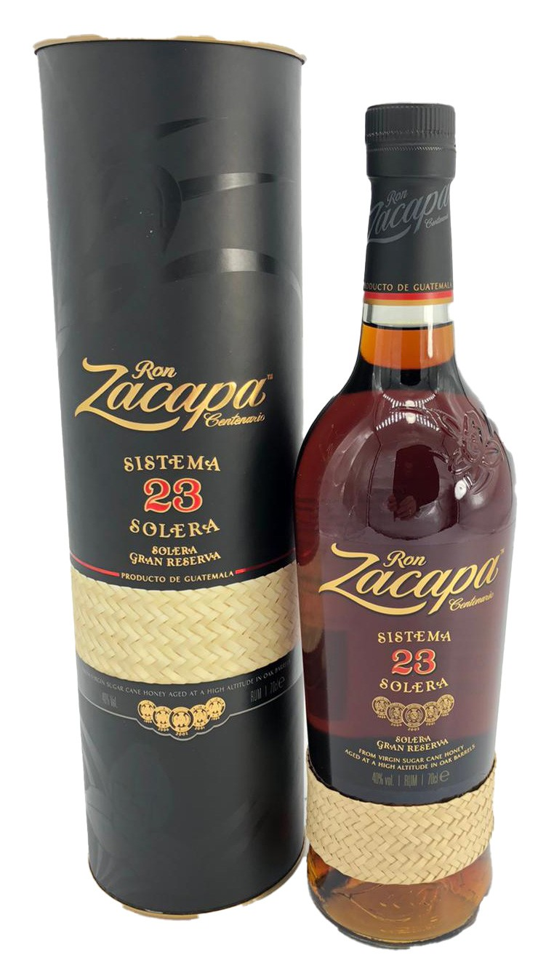 Ron Zacapa Centenario 23 Solera Rum aus Guatemala in GP