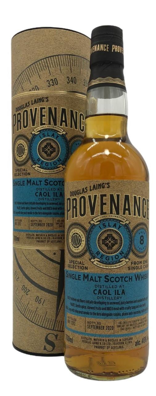 Provenance Caol Ila 8 Years Old 0,7