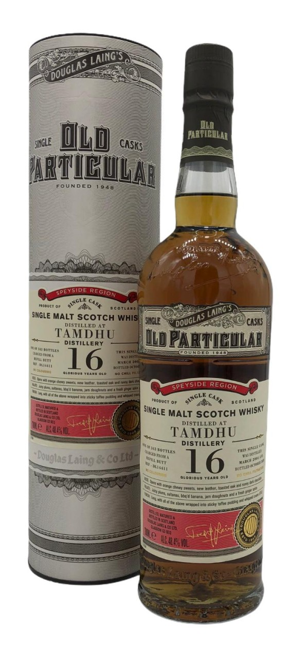 Old Particular Tamdhu 16 Years Old