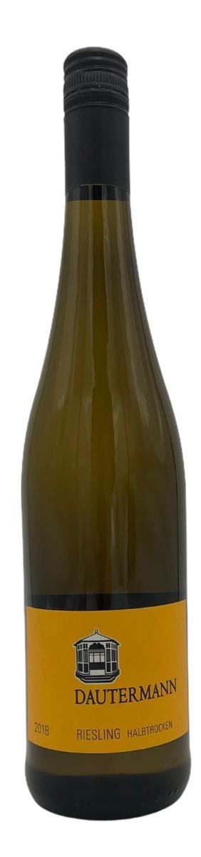 Dautermann Riesling halbtrocken Weißwein 2018