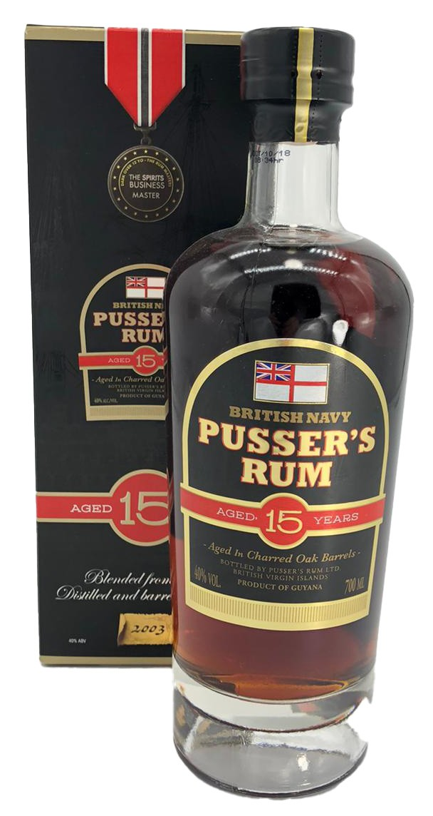 Pusser´s Rum Aged 15 Years