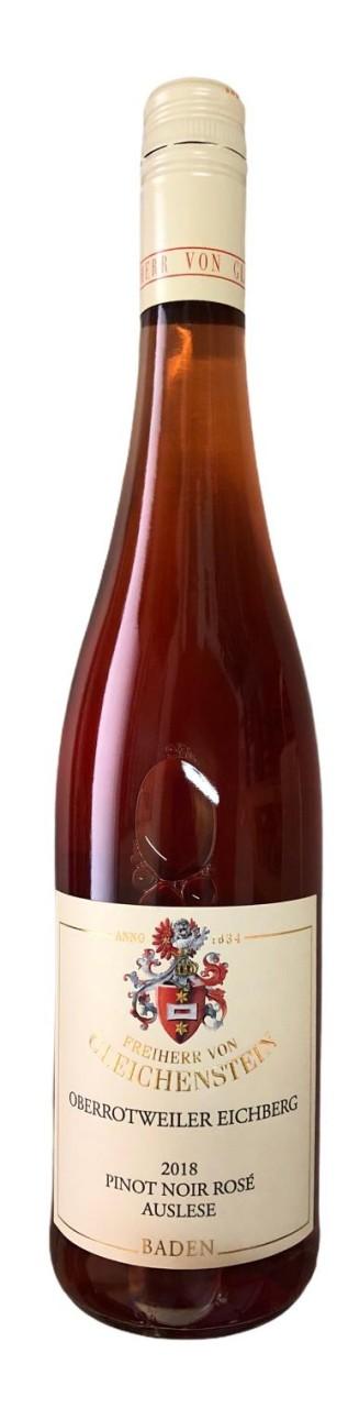 Freiherr von Gleichenstein Oberrotweiler Eichenberg Pinot Noir Rosé Auslese 2018