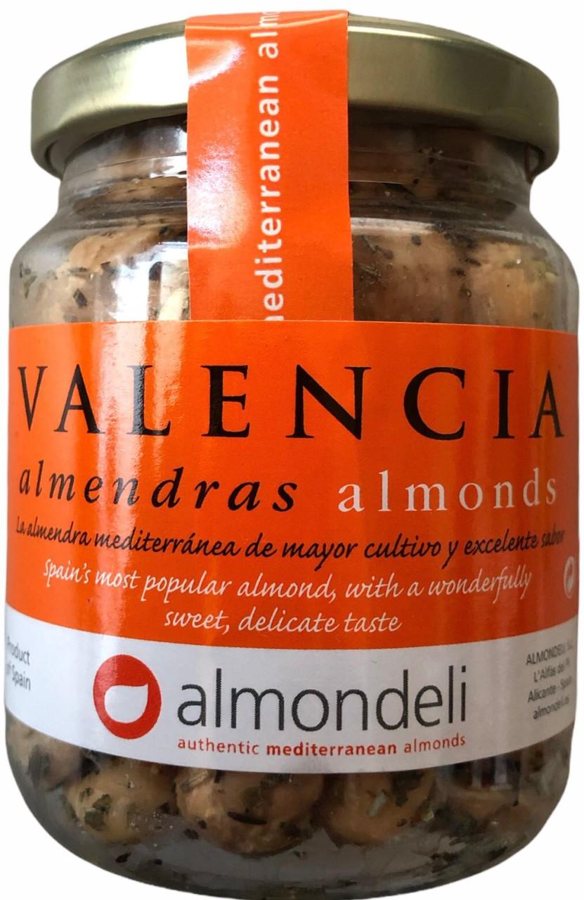 Valencia almendras almonds Rosmarien 125g