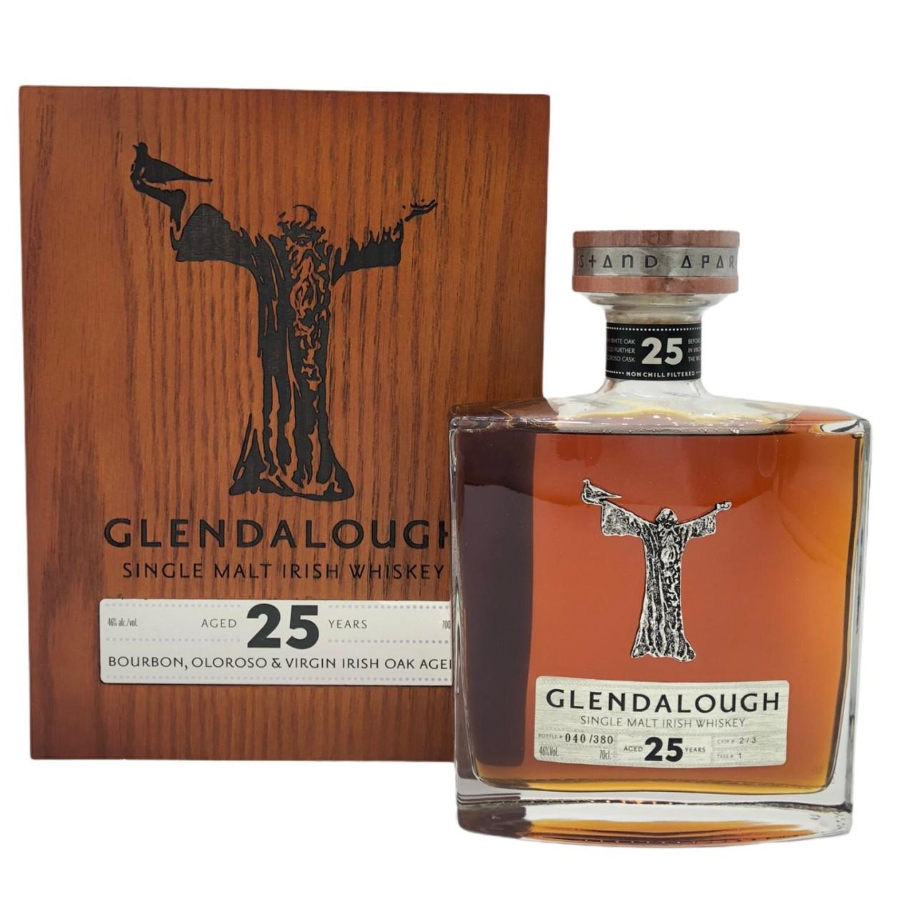Glendalough Single malt irish Whiskey 25 Years old 0,7 l