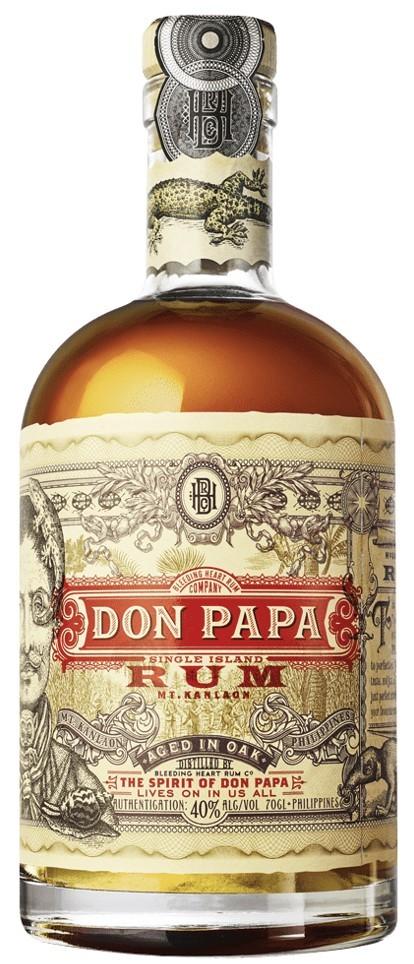 Don Papa Rum von den Philippinen