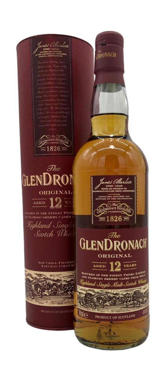 Glendronach 12 Years Old Original Single Malt Whisky