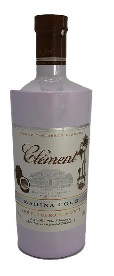 Clément Rhum Mahina Coco Caribbean Coconut Licor