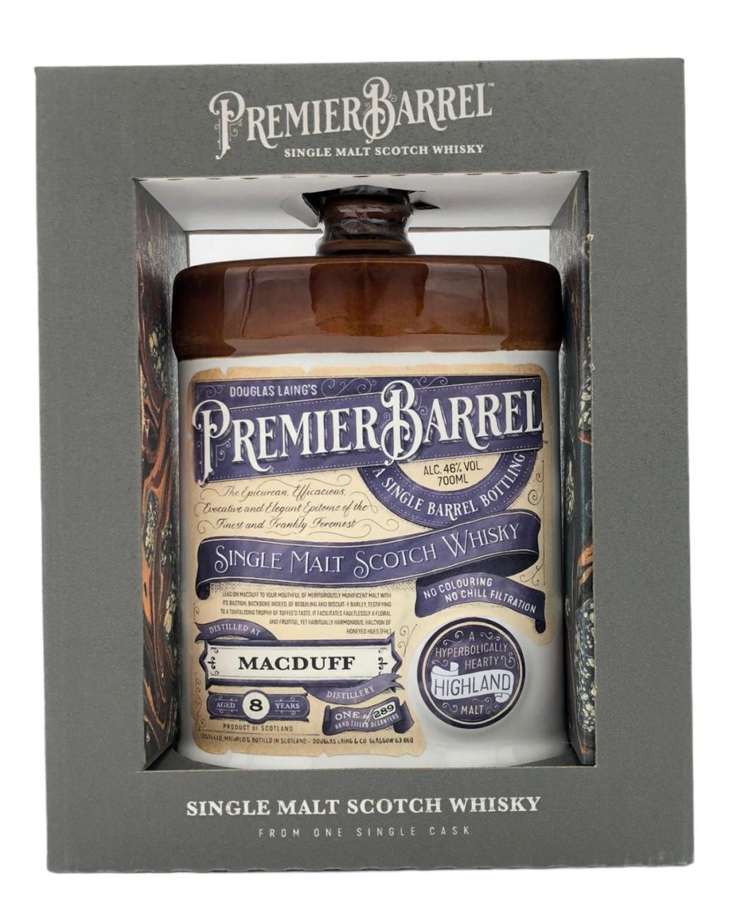 Premier Barrel Macduff 8 Years Old 0,7l