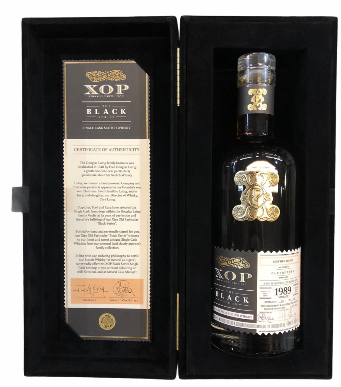 Glenrothes 30 Years Old XOP Black Edition