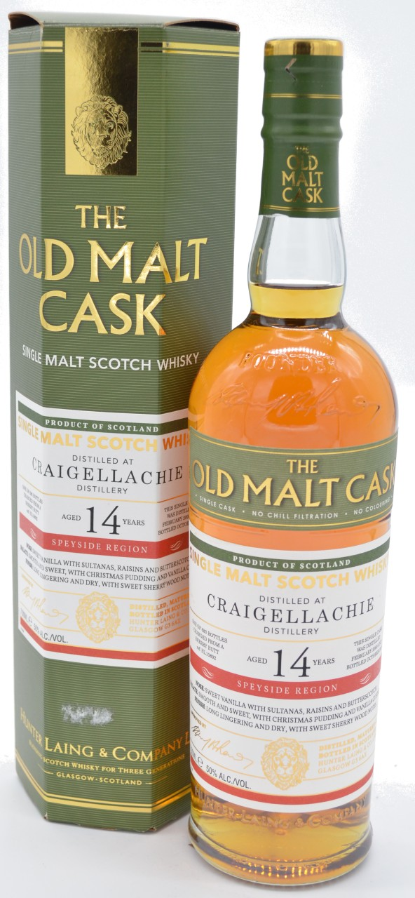 The Old Malt Cast Craigellachie 14 Years