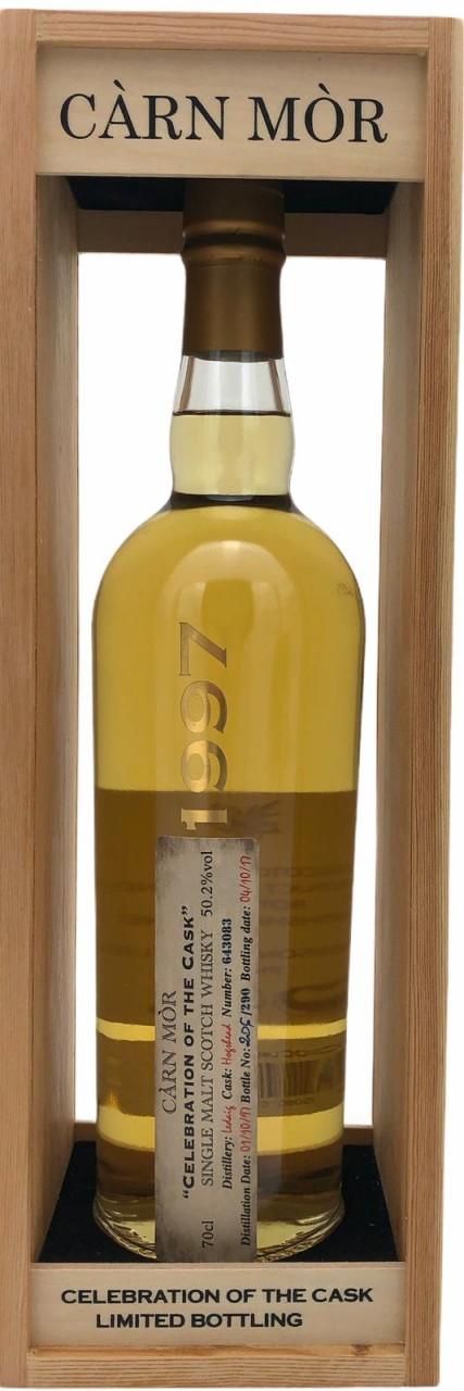 """Carn Mor """"Celebration of the Cask"""" 1997 Single Malt Scotch Whisky 50,2%vol. 0,7l"""
