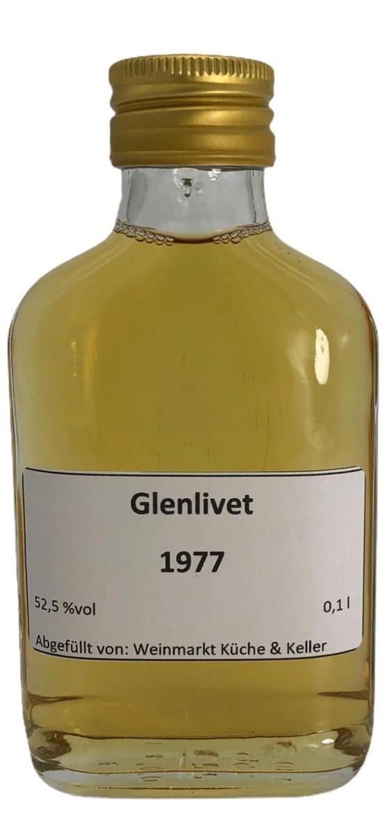 Glenlivet 1977 (Fassstärke) 0,1 L