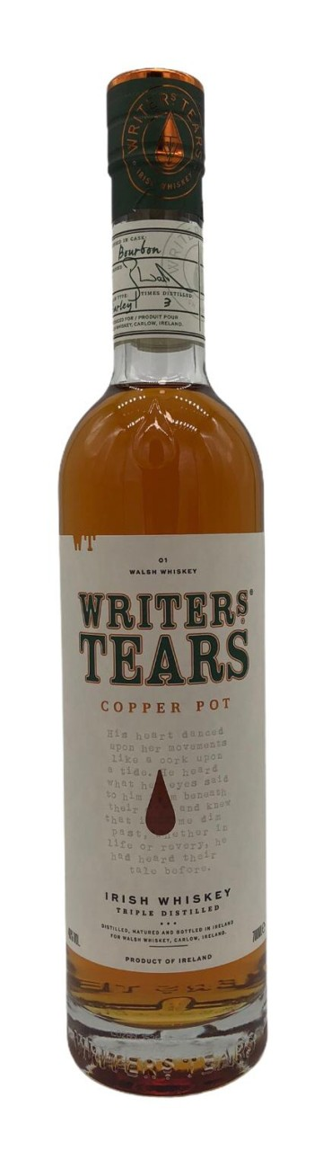 Writers Tears Copper Pot Irish Whiskey 0,7L