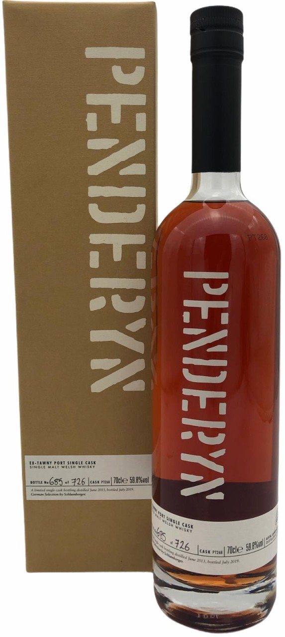 Penderyn Single Cask Tawny Port Pipe 59,8%vol