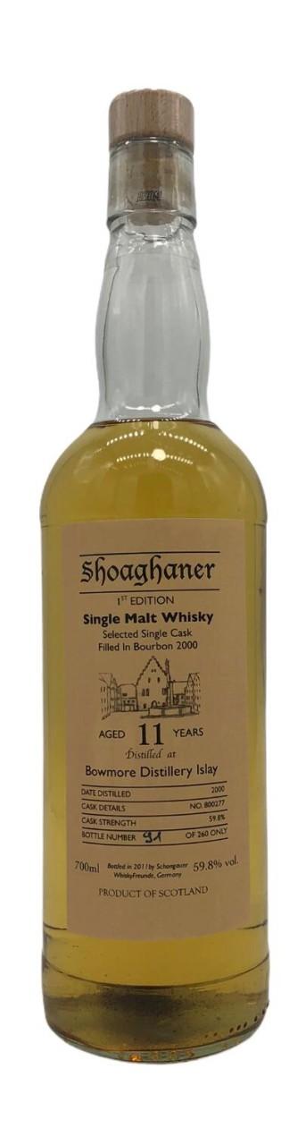 Shoaghaner 1st Edition Bowmore Distillery Single Malt 11 Years old