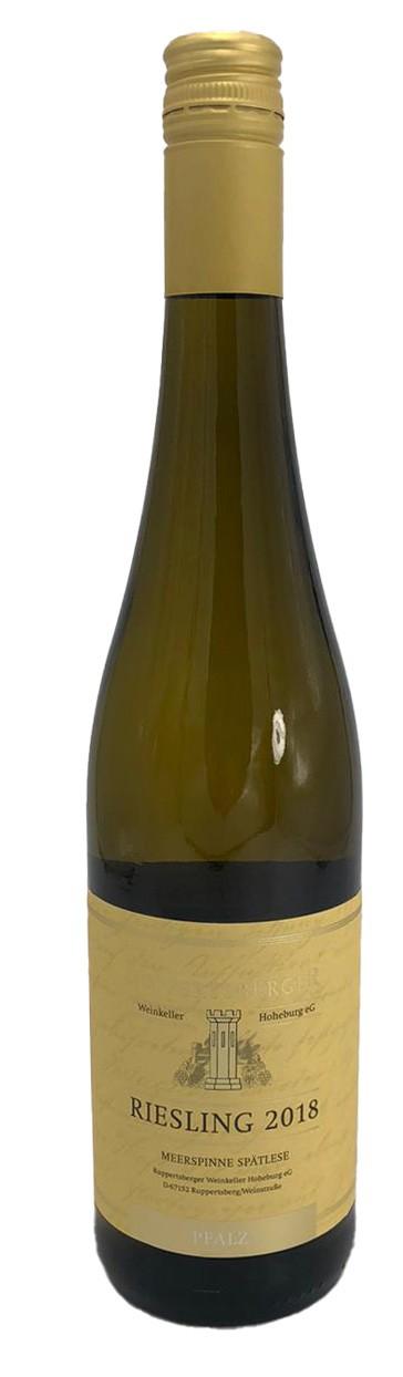 Ruppertsberger Riesling Meerspinne Spätlese Weißwein 2018