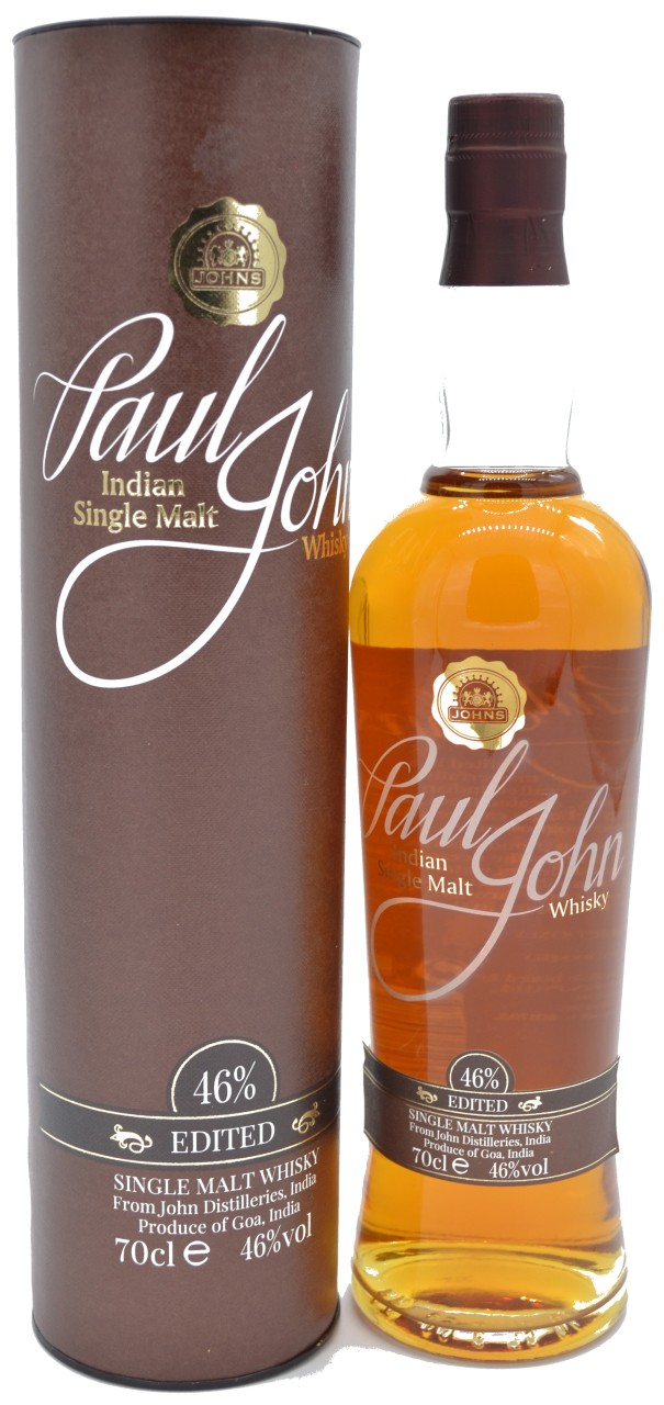 Paul John Edited Single Malt Whisky 0,7 L