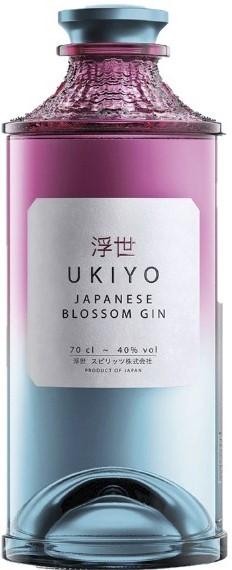 Ukiyo Japanese Blossom Gin 0,7l