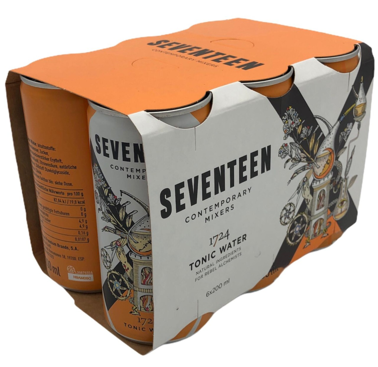 Seventeen 1724 Indian Tonic Water in Dose 6er Pack