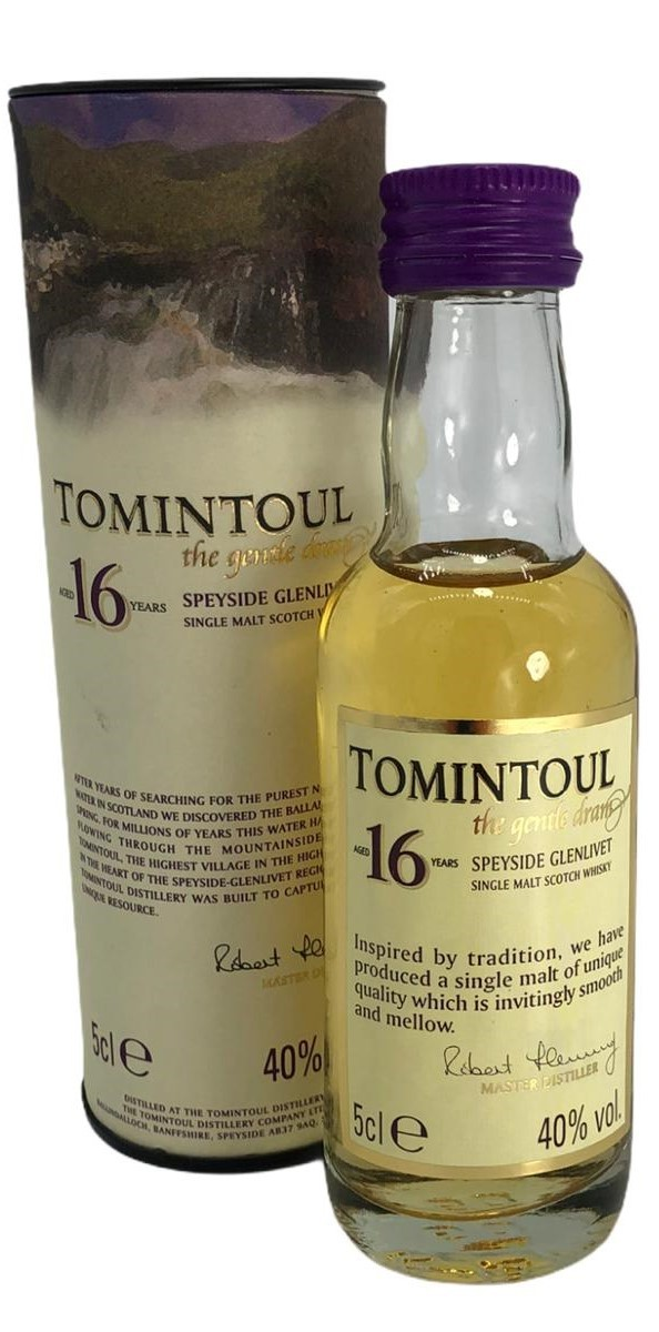 Tomintoul 16 Years 5cl
