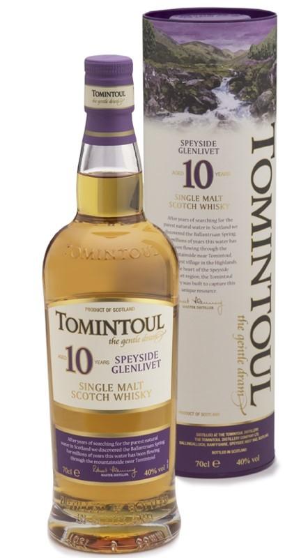 Tomintoul 10 Years single Malt 0,7 L