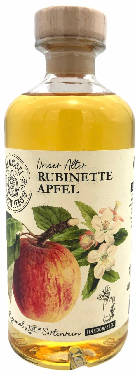 The Mosel Distillers Rubinette Apfel 0,5l 40% Vol.