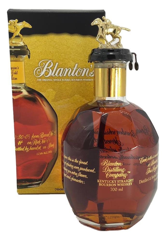 Blanton´s the Original Single Barrel Bourbon Gold Edition