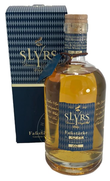 Slyrs Single Malt Fassstärke 2009 - LIMITIERTE AUFLAGE -