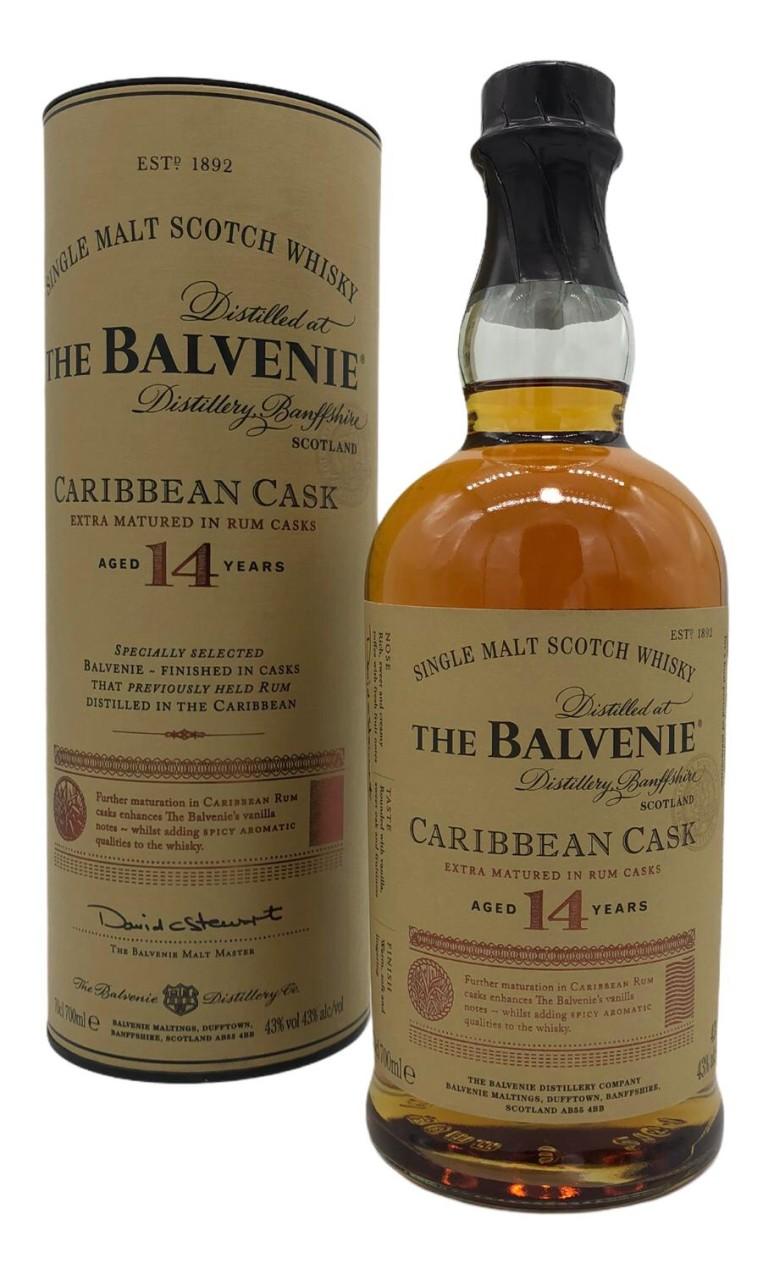 Balvenie 14 Y Carribean Cask Highland Pure Malt