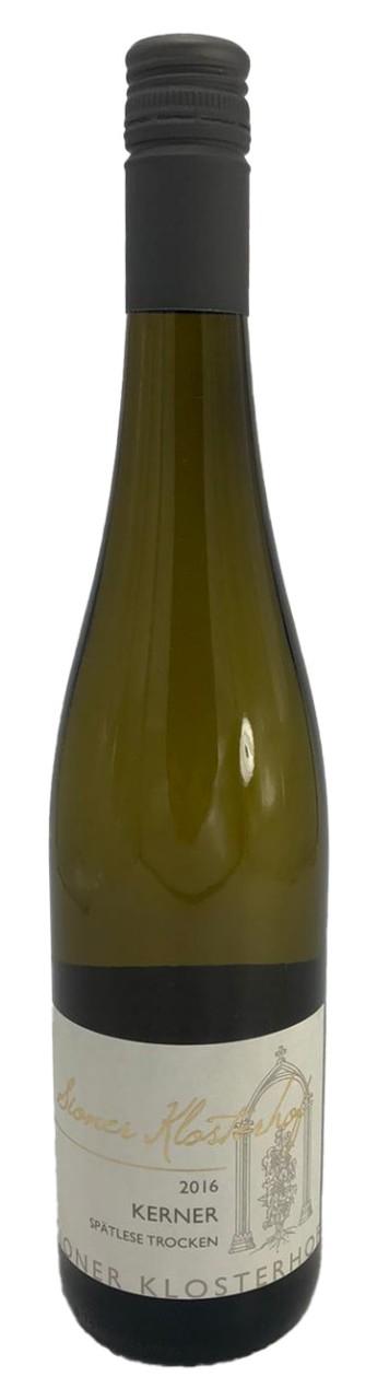 Sioner Klosterhof Kerner Spätlese trocken Weißwein 2016
