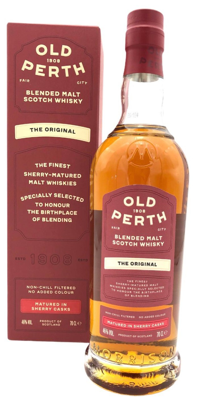 Old Perth Original Blended Malt Scotch Whisky 46% vol