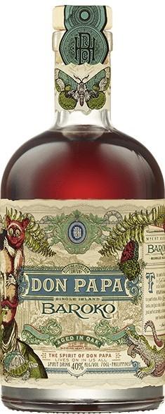 Don Papa Baroko 40%vol. 0,7l Rum von den Philippinen
