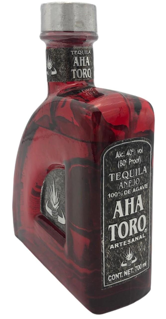 Aha Toro Tequila anejo 40% - 700 ml