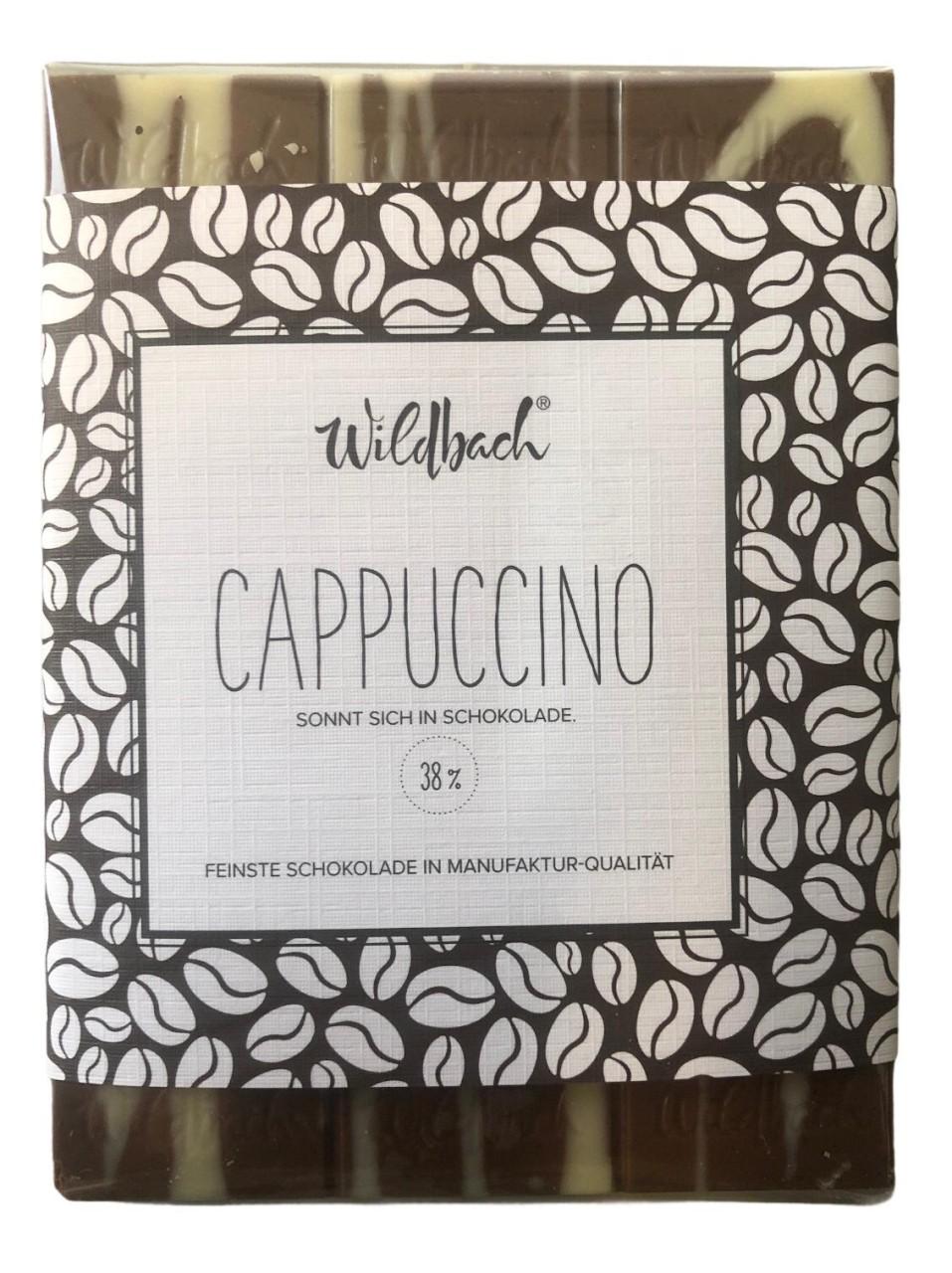 Wildbach Cappuccino 38% 70g