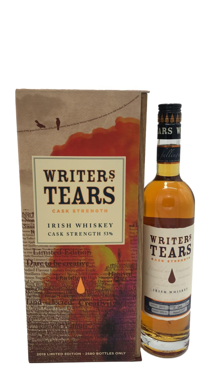 Writers Tears Cask Strength Irish Whisky