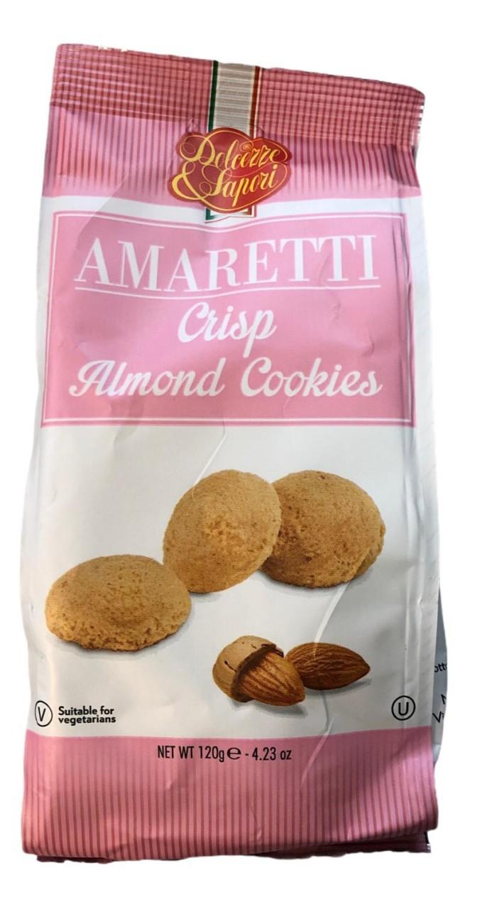 Dolceze & Sapori Amaretti Crisp Almond Cookies 120 g