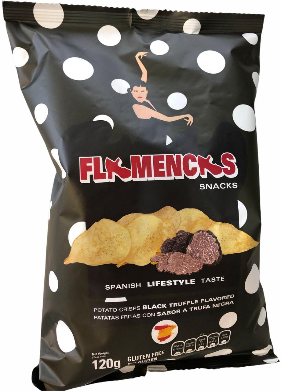 Flamencas Black Truffle Flavored 120 g Beutel, 0,12 kg