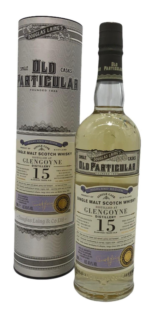 Old Particular Glengoyne 15 Years Old