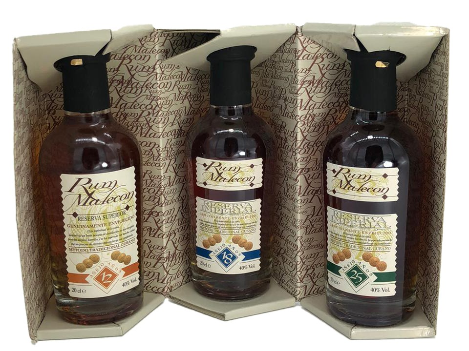 Rum Malecon Reserva Imperial 3x 20 cl