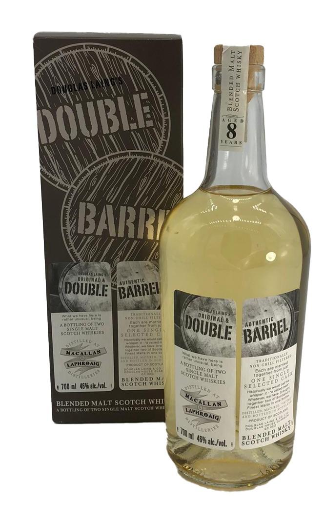 Macallan & Laphroaig Double Barrel Blended Malt 0,7 L