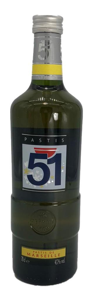 Pastis 51 französischer Anislikör 0,7 L